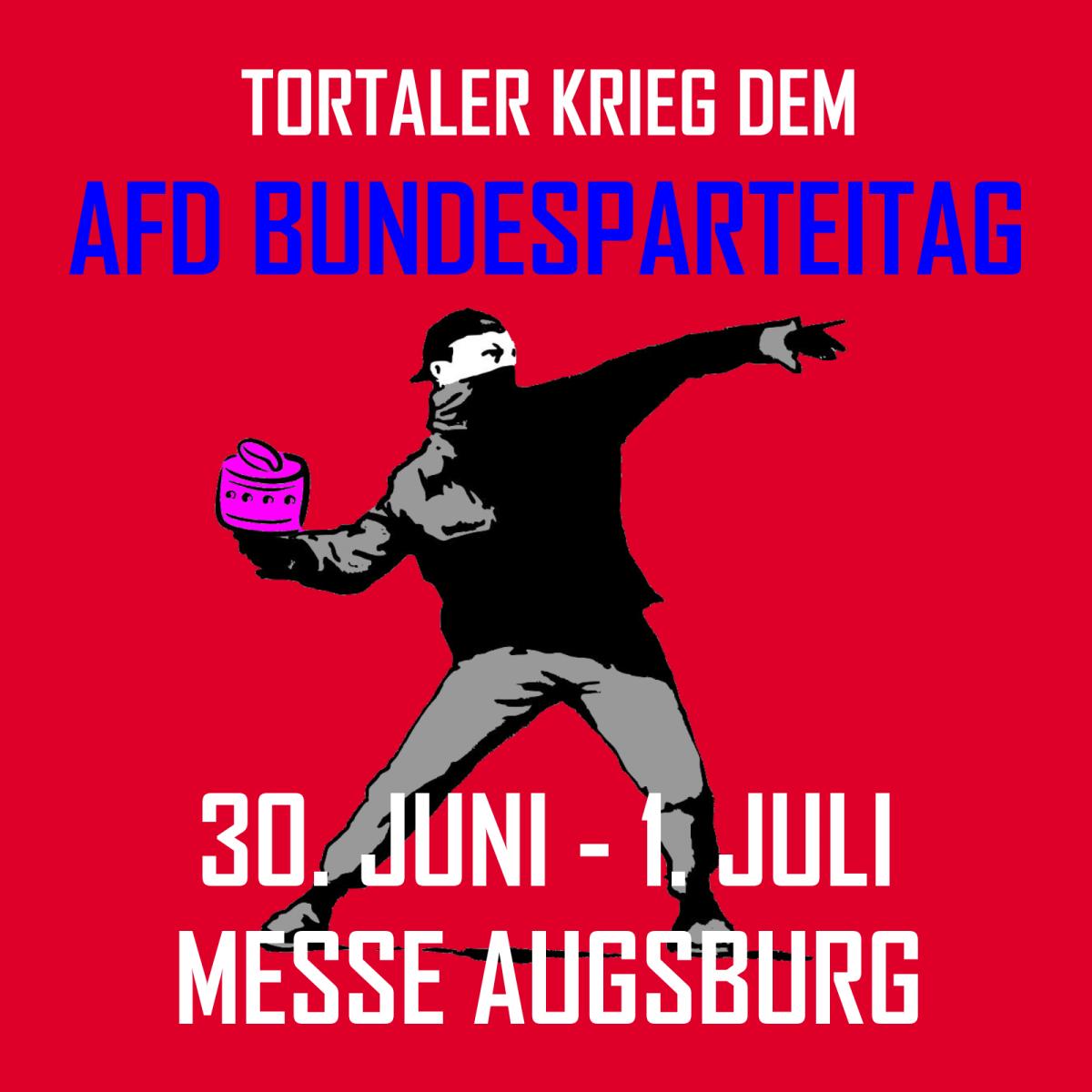 AfD-Bundesparteitag 2018 voraussichtlich am 30.06/01.07. in Augsburg