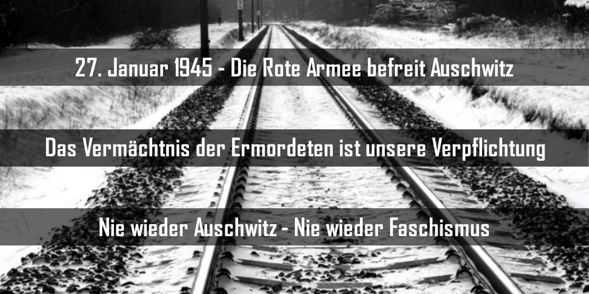 Am 27. Januar 1945 befreite die Rote Armee Auschwitz