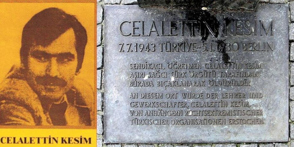 Kundgebung in Gedenken an Celalettin Kesim am 05.01. in Berlin