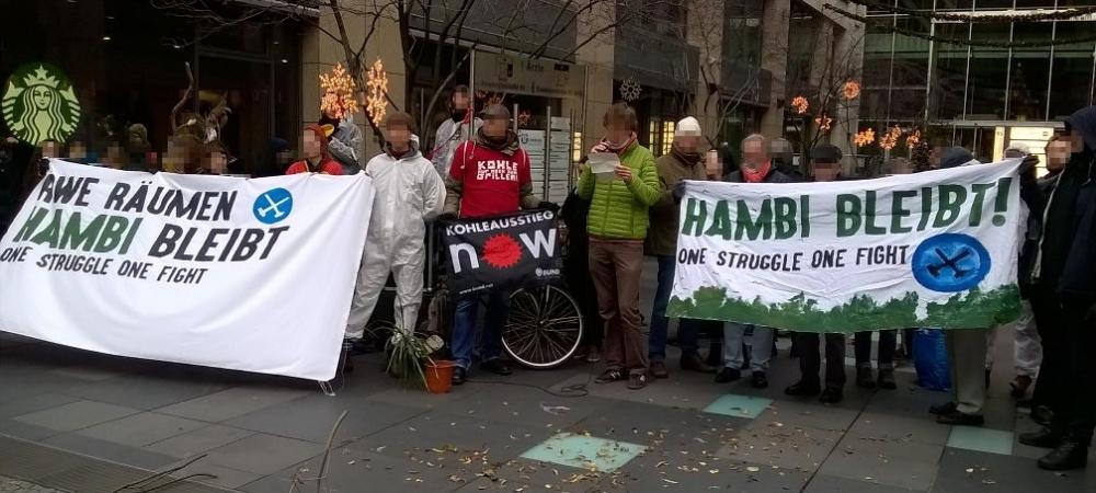 Kohleausstieg jetzt – Den Hambacher Forst verteidigen