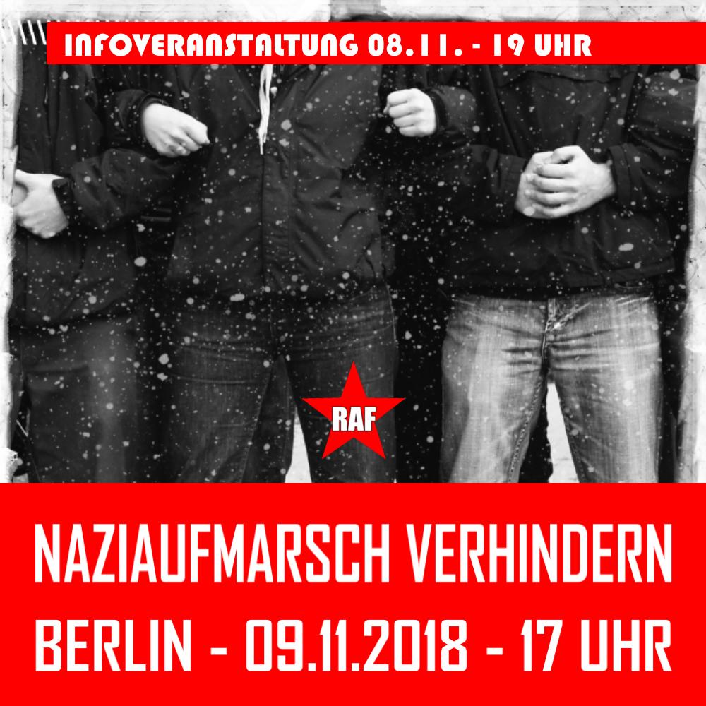 Orga-Treffen gegen den nächsten Naziaufmarsch am 24. Oktober