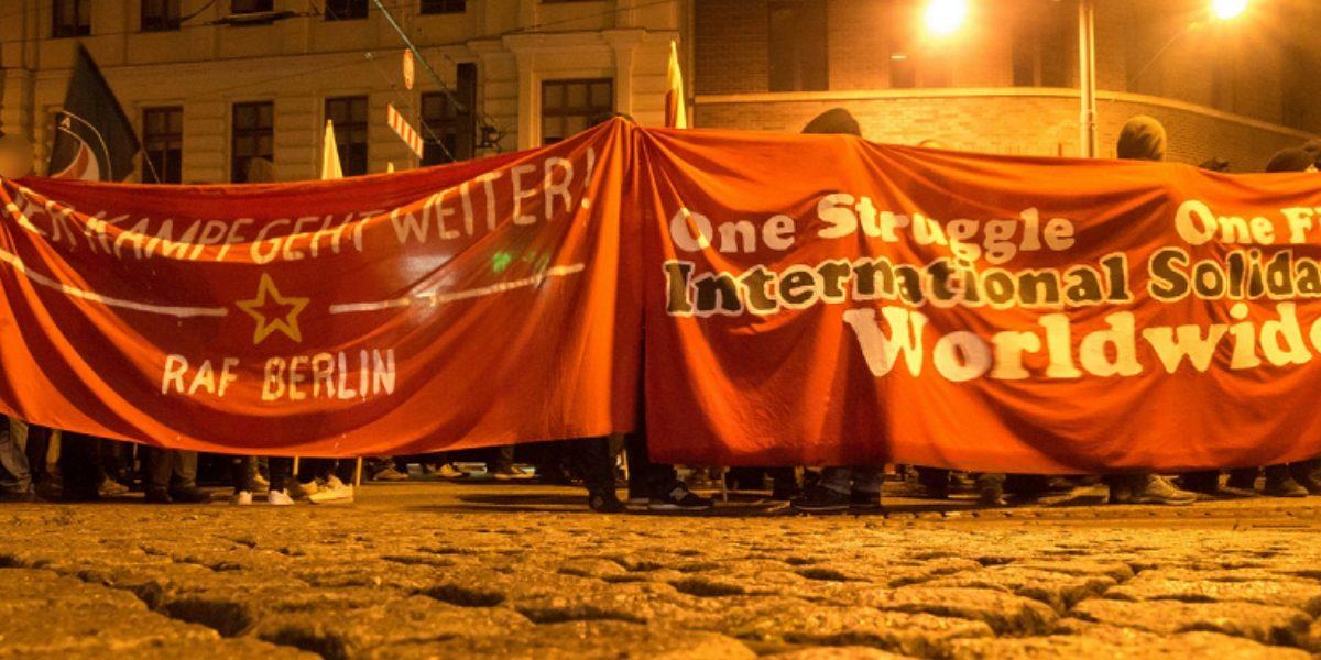 Große entschlossene Demo gegen die Innenministerkonferenz in Magdeburg